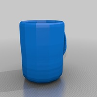 Small extra large cup 3D Printing 13641