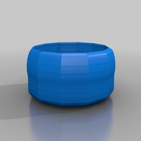 Small plant pot 3D Printing 13644