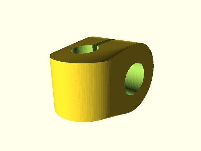 Mudguard Fitting Parts 3D Print 136470