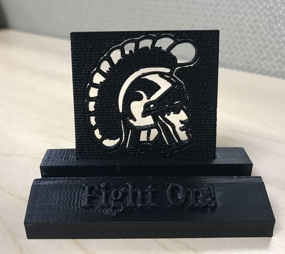 USC Trojans Fight On Phone Stand (multiple designs) 3D Print 136473