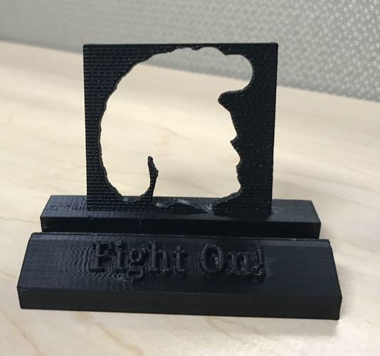 USC Trojans Fight On Phone Stand (multiple designs) 3D Print 136474