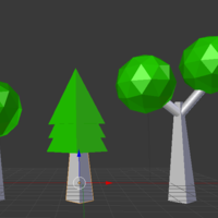 Small Kind of Low Poly tree 3D Printing 136492