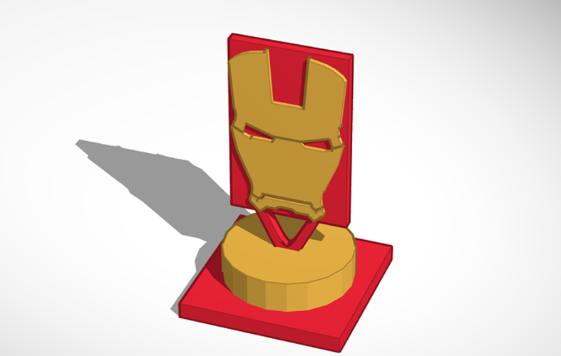 Iron man sculpture  3D Print 136505