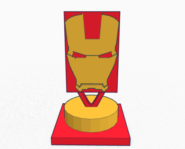 Iron man sculpture  3D Print 136506