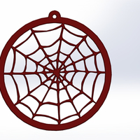 Small Dream Catcher 3D Printing 136526