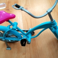 Small Barbie bike pedal 3D Printing 136544