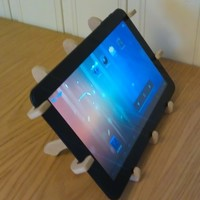 Small Tablet holder 3D Printing 136607