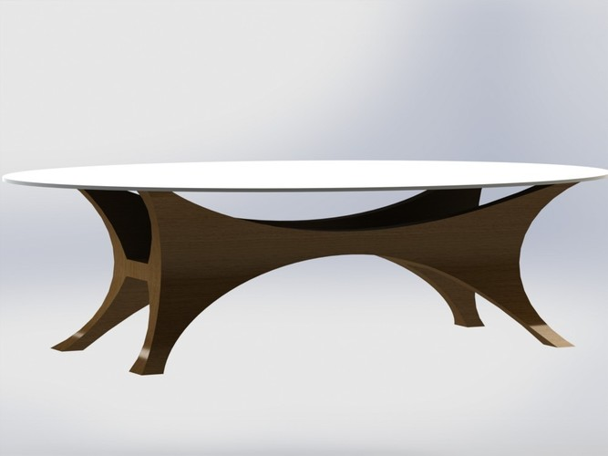 Da Vinci Table 3D Print 136625