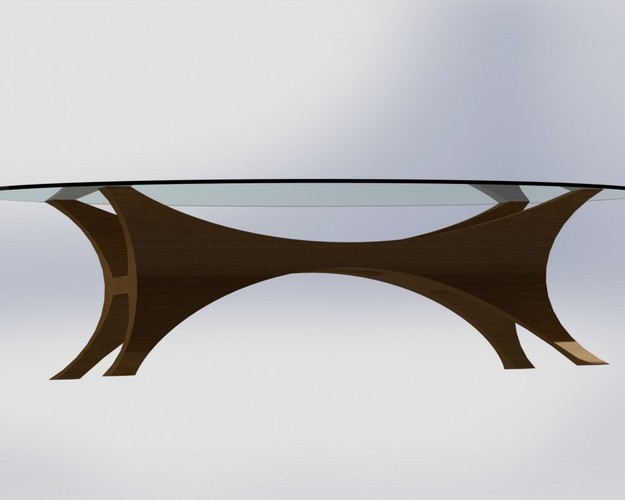 Da Vinci Table 3D Print 136627