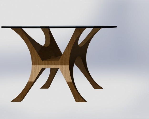 Da Vinci Table 3D Print 136628