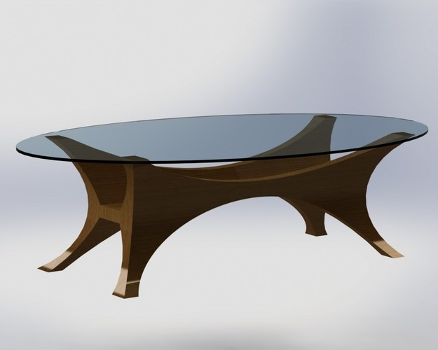 Da Vinci Table 3D Print 136629