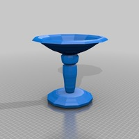 Small bird bath 3D Printing 13665