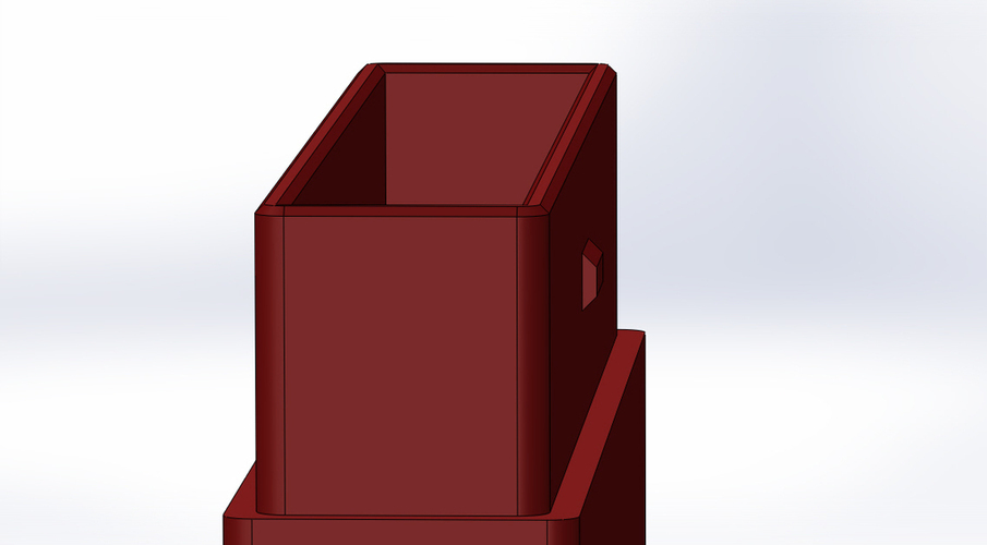 Business card holder 3D Print 136657