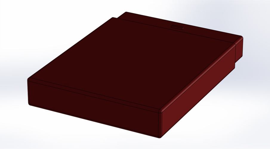 Business card holder 3D Print 136661
