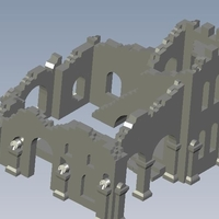 Small Tower ruins 3D Printing 136667