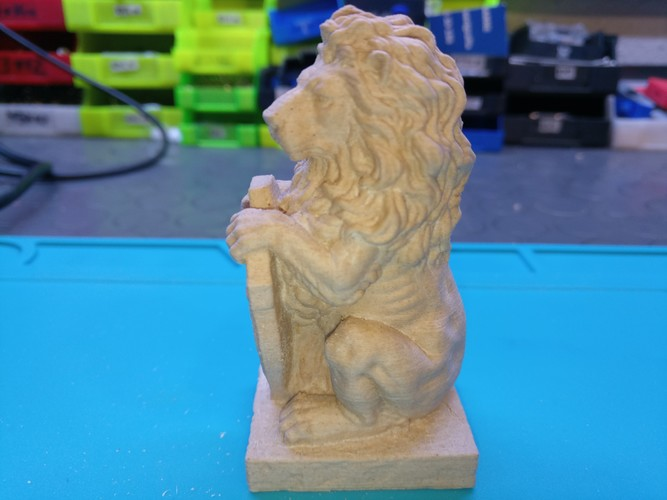 Lion Welcome 3D Print 136682