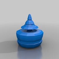 Small model tree in a pot 3D Printing 13669