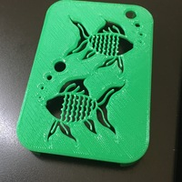 Small Soap holder (Fish) 3D Printing 136737