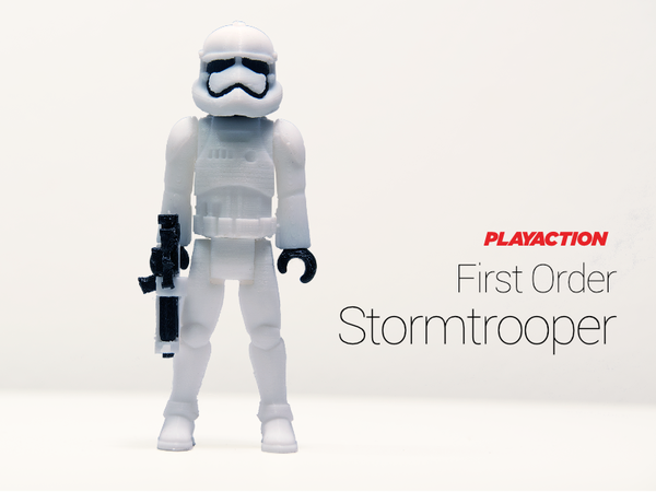 Medium Stormtrooper 2.0 3D Printing 136759
