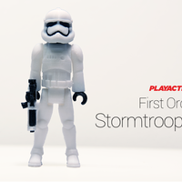 Small Stormtrooper 2.0 3D Printing 136759