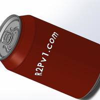Small CocaCola Can 3D Printing 136763