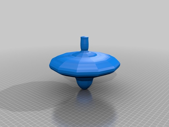 spinning top 3D Print 13678