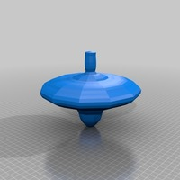 Small spinning top 3D Printing 13678