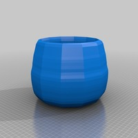 Small plant pot 3D Printing 13679