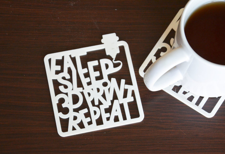 eat sleep 3dPrint repaeat  3D Print 136837