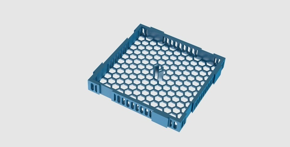 Plenum modules for Jaubert's Method for living reef aquariums 3D Print 136911