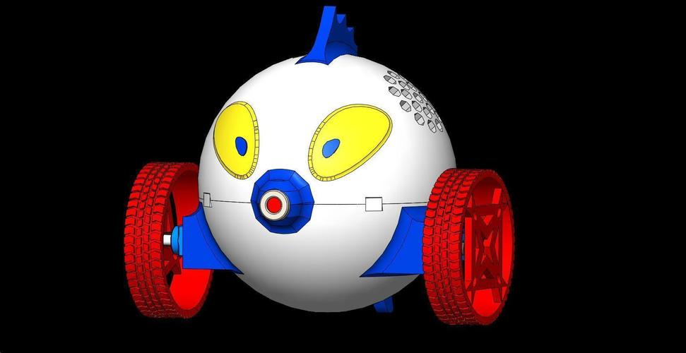 FishyBallBot 3D Print 136934