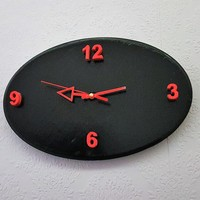 Small Oval Clock Face 3D Printing 136943