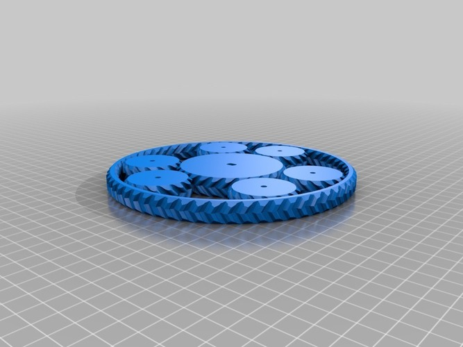 Planetary Gearset (Cycloidical) might not work 3D Print 13695