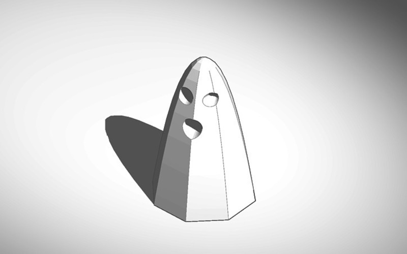 ghost in sheet 3D Print 13700