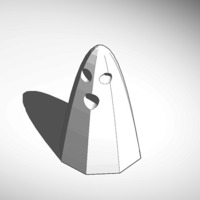Small ghost in sheet 3D Printing 13700