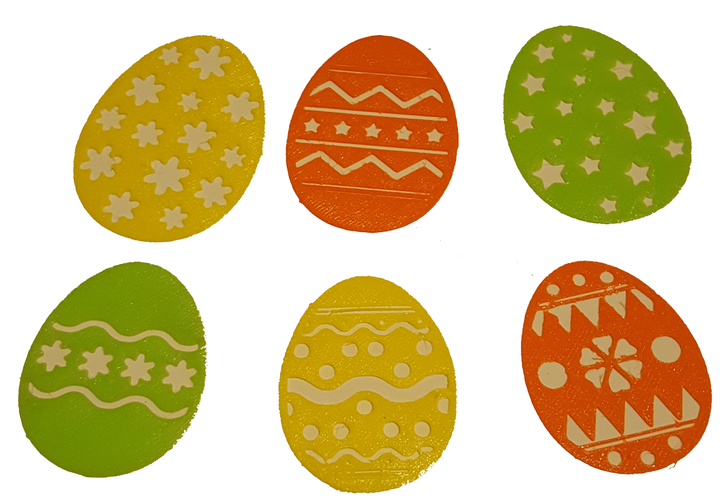 EASTER EGG DECORATIONS 3D Print 137029
