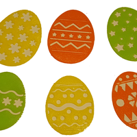 Small EASTER EGG DECORATIONS 3D Printing 137029