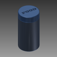 Small Storage Jar 3D Printing 137035