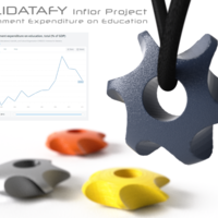 Small Solidatafy – Government Expenditure on Education 3D Printing 137053