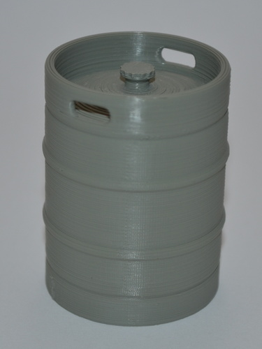 Scale 1/10 Beer barrel  3D Print 137075