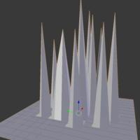 Small Ice spikes by Anonymous 3D Printing 137122