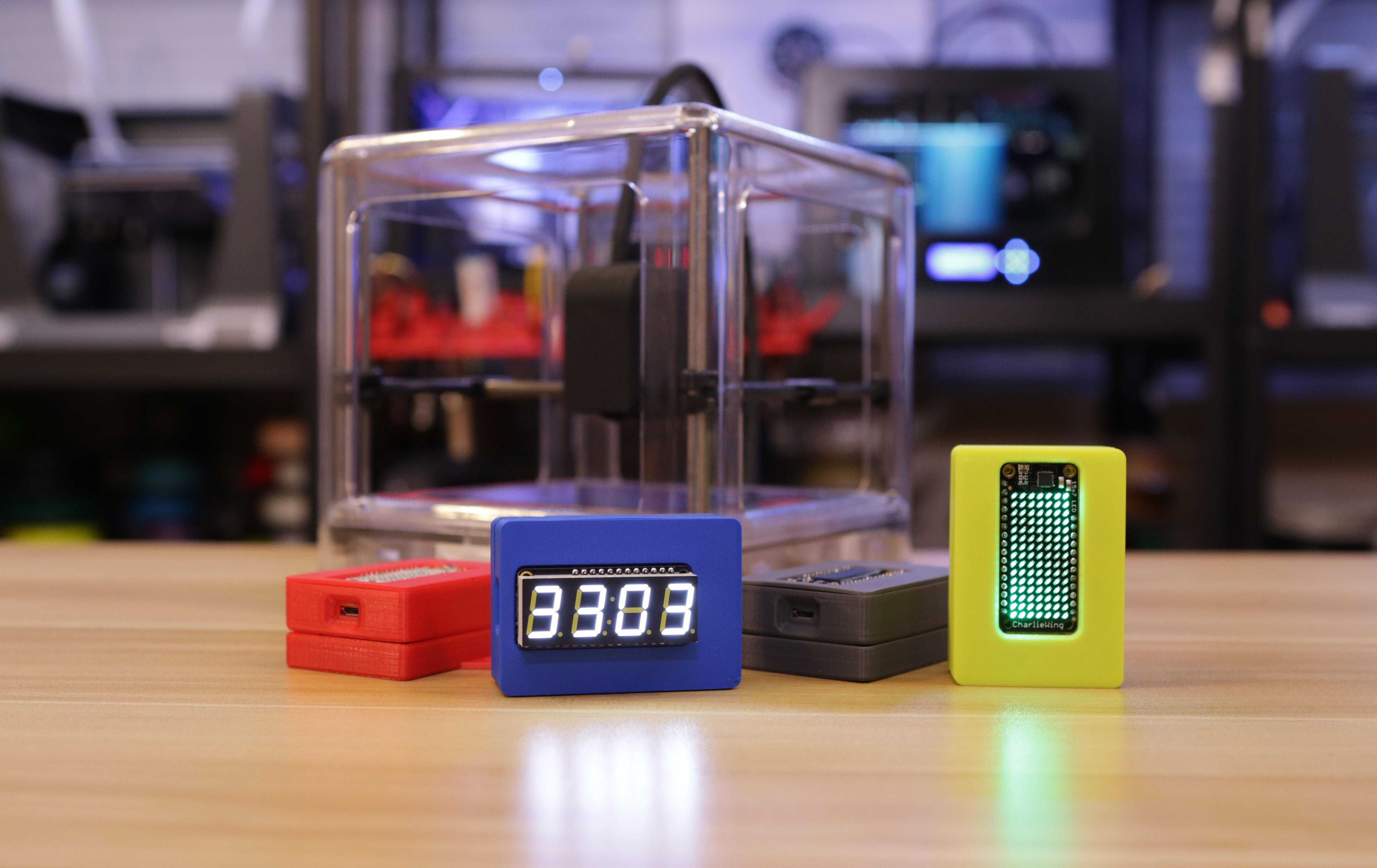 3D Printed Adafruit Feather Box Enclosure by Adafruit | Pinshape