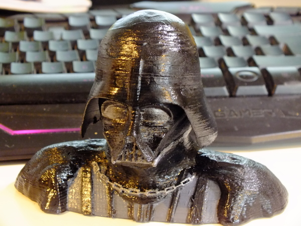 Medium Darth Vader Reveal Bust 3D Printing 137164