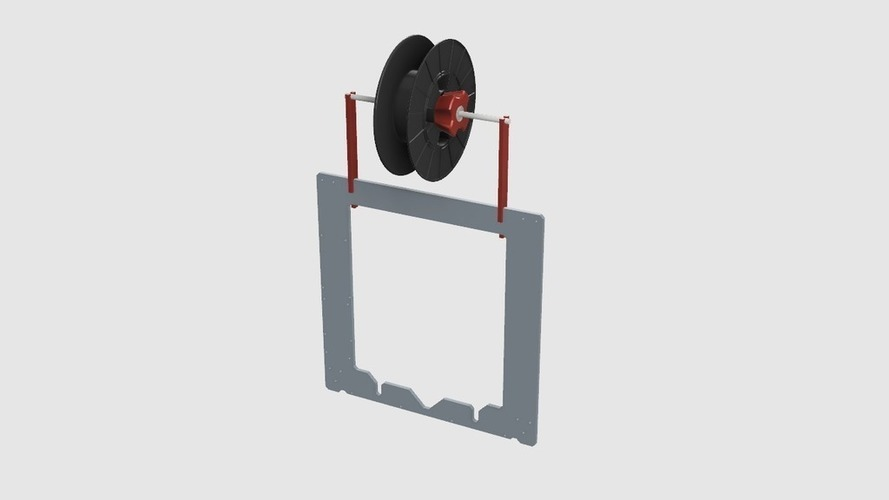 Prusa i3 MK2 Spool Holder 3D Print 137296