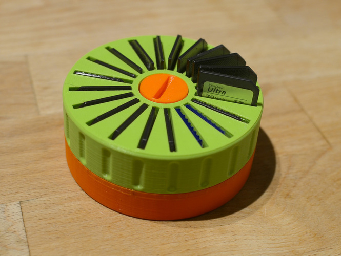 SD Card Spinneroo 3D Print 137304