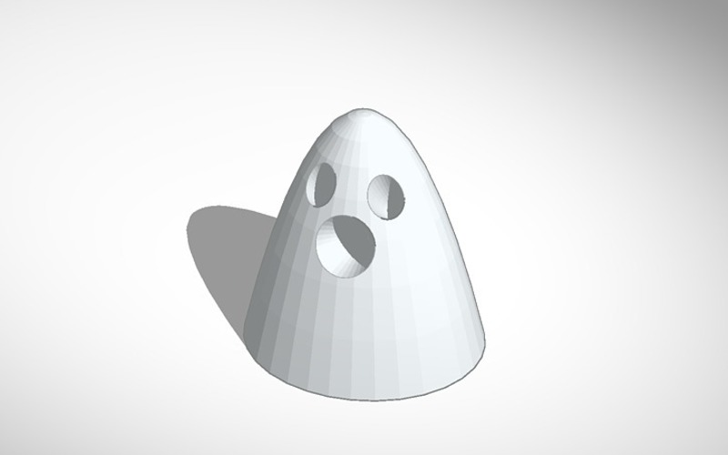 glowing ghost 3D Print 13731
