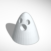 Small glowing ghost 3D Printing 13731