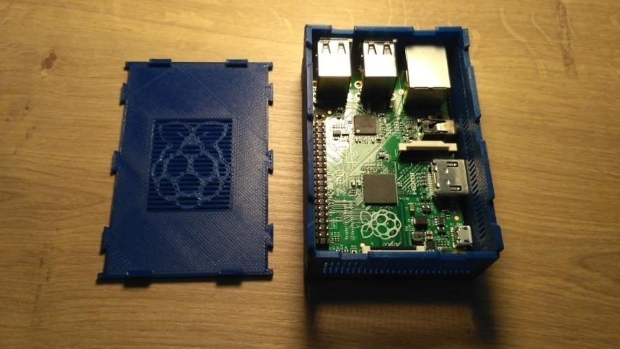 Box-It Raspberry Pi 2 + 3 Case 3D Print 137426