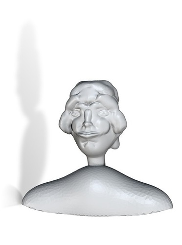 bust of a lady 3D Print 13744