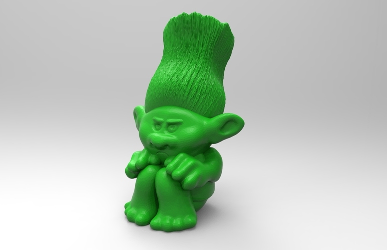 Trolls Pen Holder 3D Print 137472